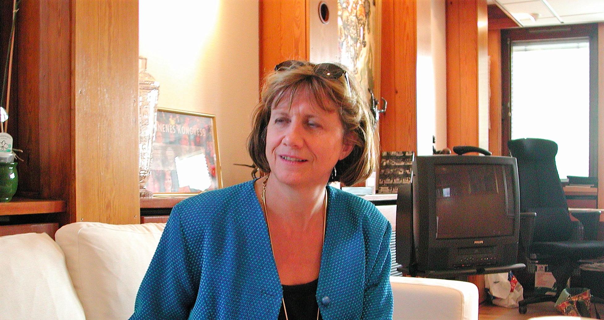 Gerd-Liv Valla använder sin makt i kamp mot det sjuka arbetslivet