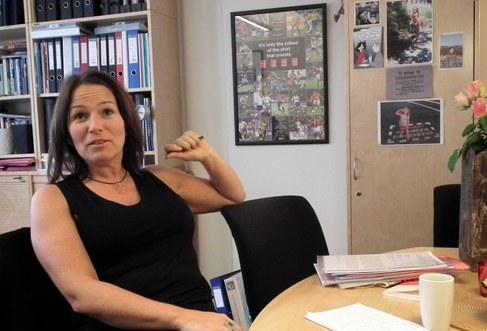 Trine Lise Sundnes är de nordiska arbetstagarnas röst i ILO