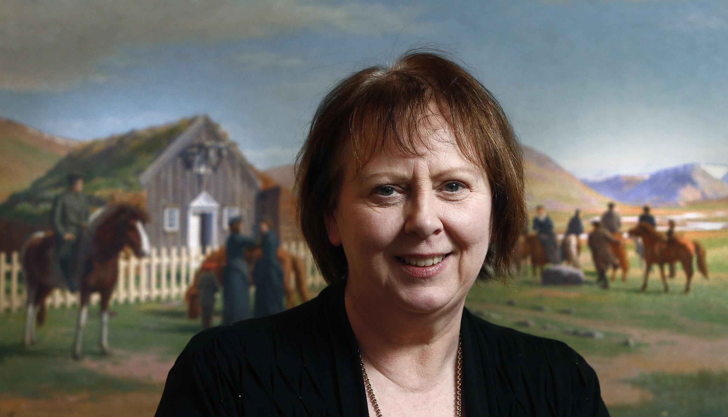 Agnes M. Sigurðardóttir: Biskopen som städar kyrkan