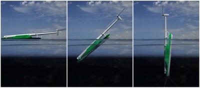 Windflip transporterar vindkraftverk