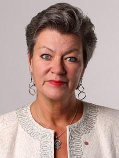 Ylva Johansson Foto: Sören Andersson/Regeringskansliet
