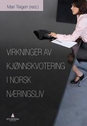 Bok om kvinnekvotering Mari Teigen
