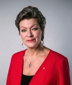 Ylva Johansson front