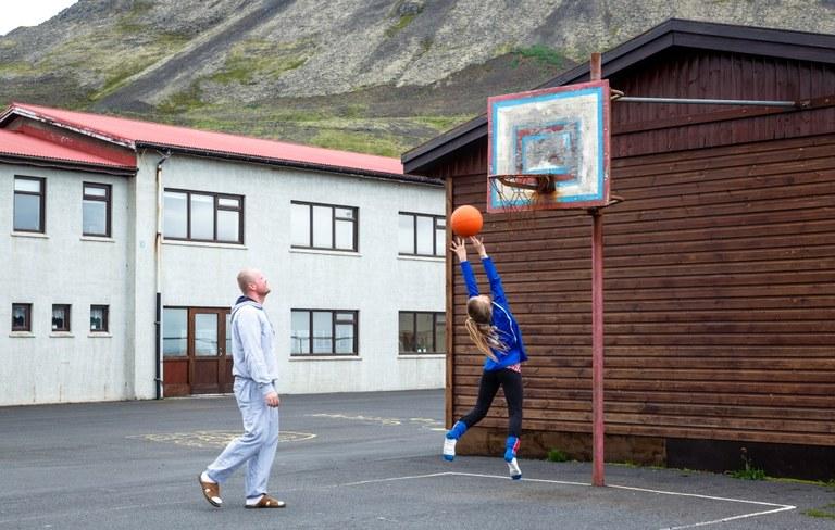 Ungdom på Island