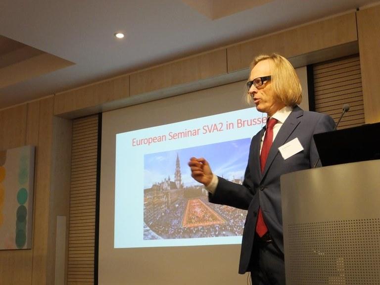 Morten Irgens prorektor på HIOA Foto: Björn Lindahl