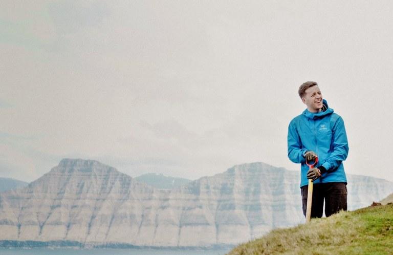 Färöarna ensam turist