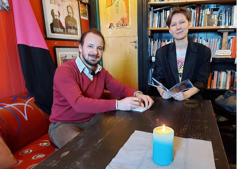Foto: Bjørn Lønnum AndreassenEivind Rindal og Kaja Colin Borgersen Bojer