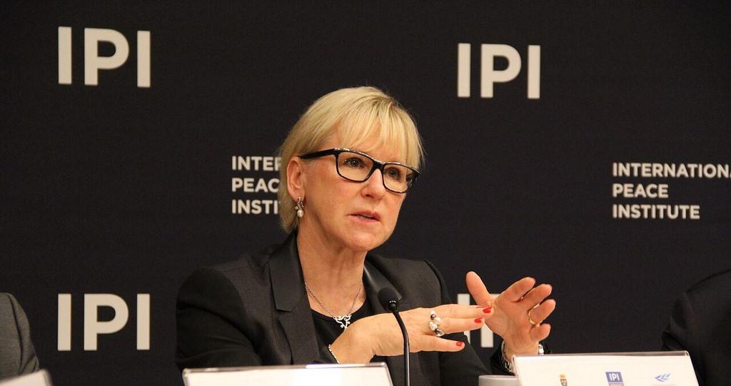 Feministisk svensk utrikespolitik - fnissfaktorn är borta