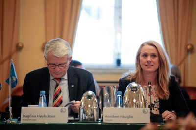 Anniken Hauglie i ministerråd: sceneskift i arbeidsmiljøarbeidet