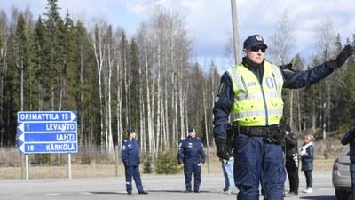 Fri rörlighet offrades för att skydda Finlands befolkning