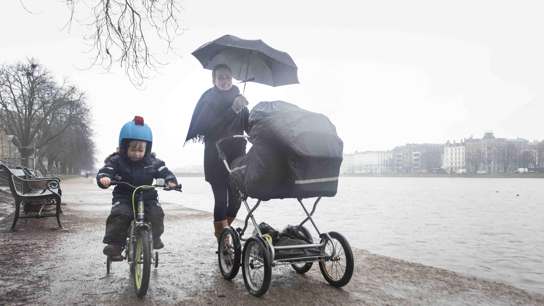 Danske børneforældre vil have svenske vilkår for deltid