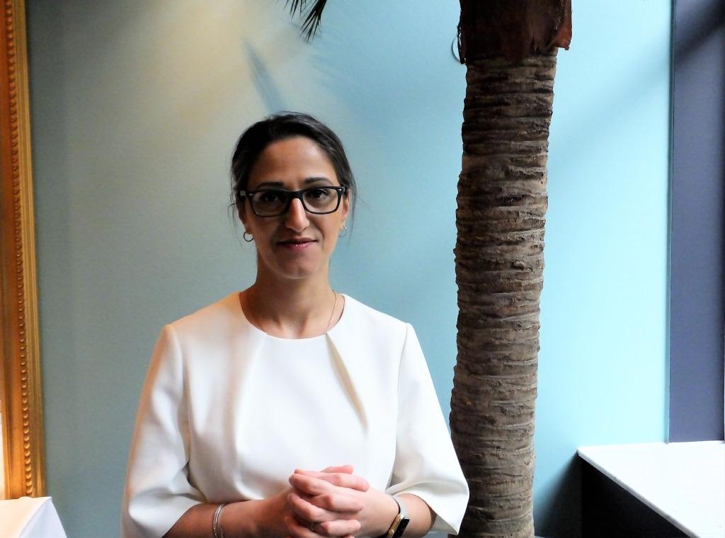 Palestinsk, kvinna, dyslektisk - och framgångsrik företagare i Island
