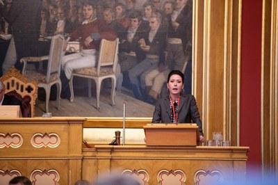 Het debatt i Nordiska rådet om anställdas villkor i sjö- och luftfarten
