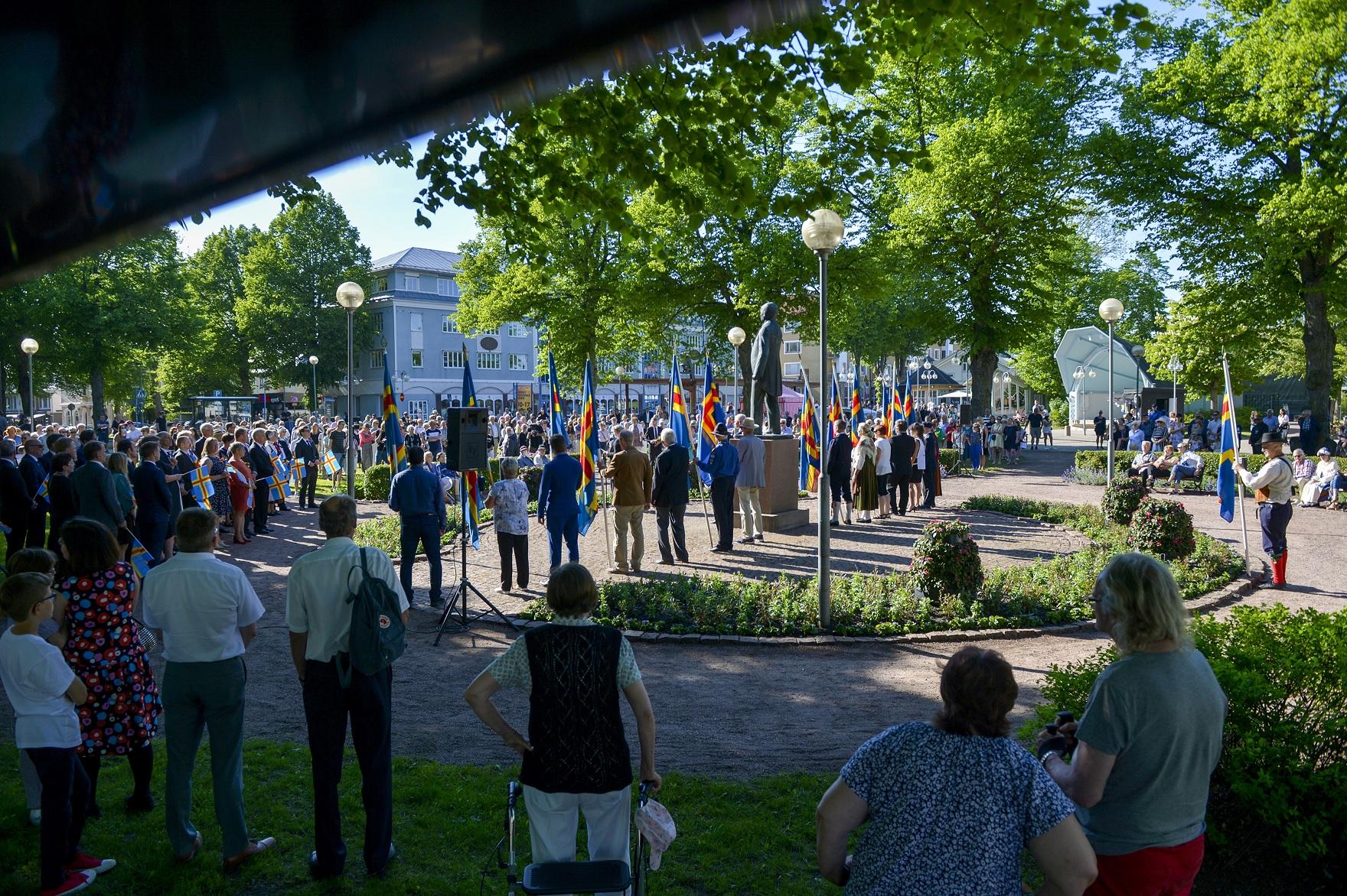 Egensinniga Åland firar 100 års självstyrelse
